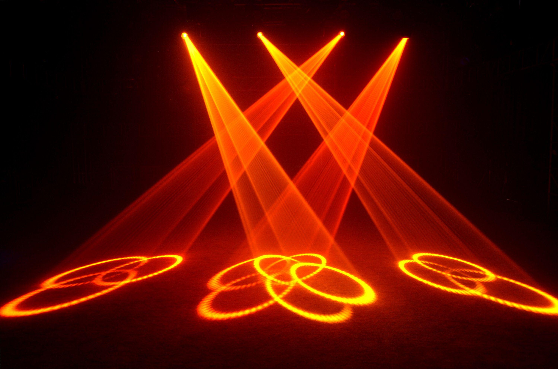 Hiệu ứng đèn sân khấu moving head beam 2