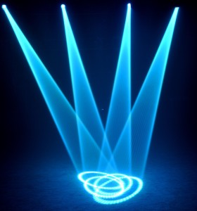 Hiệu ứng đèn sân khấu moving head beam 3