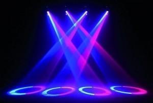 Hiệu ứng đèn sân khấu moving head spot 1