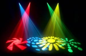 Hiệu ứng đèn sân khấu moving head spot 2
