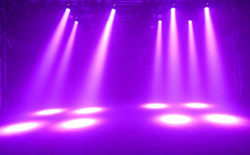 Hiệu ứng đèn sân khấu moving head wash