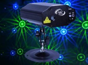 Đèn laser cho quán bar, Blue Green