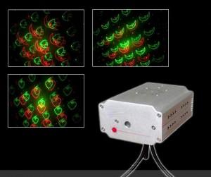 Đèn laser mini cho phòng karaoke, chiếu hình