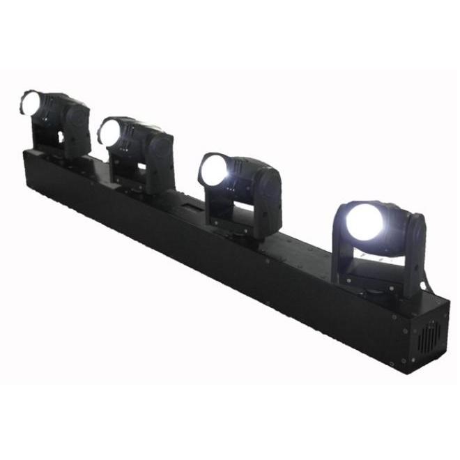 Thanh đèn moving head mini 4 trong 1