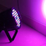 Ánh sáng đèn PAR LED 54x3W RGBW