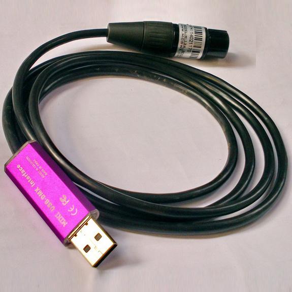 Bộ điều khiển đèn sân khấu USB DMX512