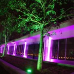 Đèn PAR LED sử dụng trong chiếu sáng khuân viên tòa nhà