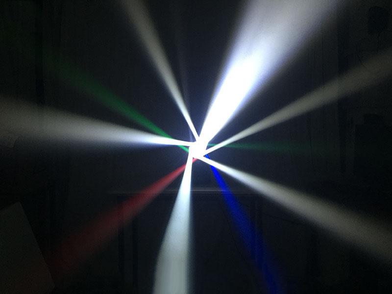 Hiệu ứng quay chéo các tia của đèn Bee-Eye