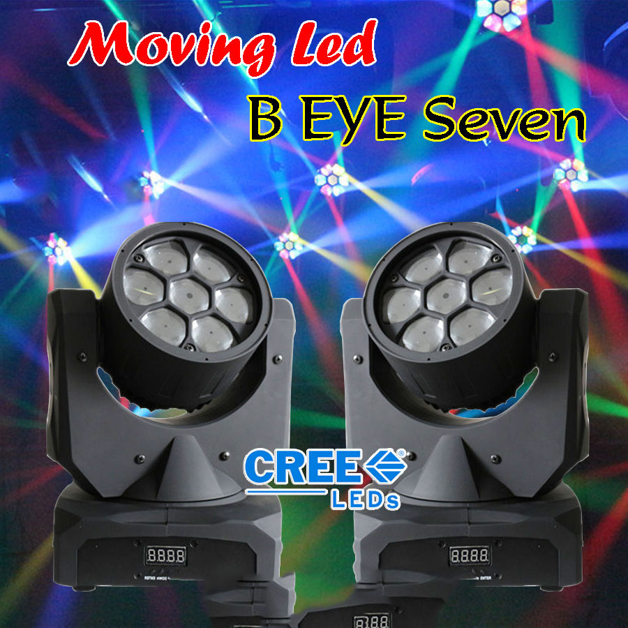 Đèn moving head BEE-EYE và hiệu ứng