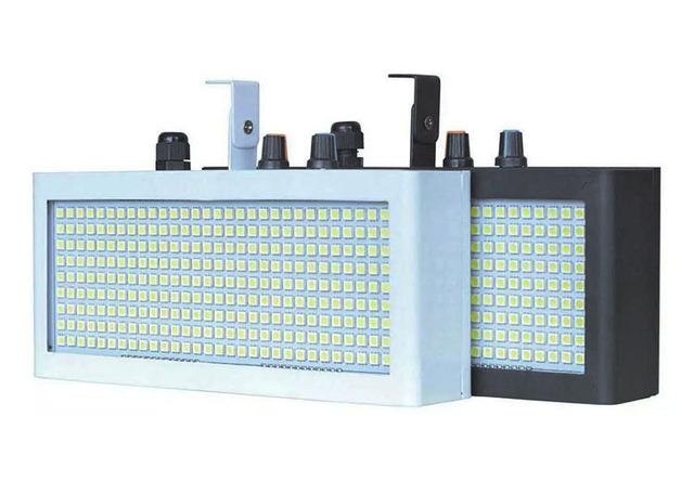 Đèn chớp LED LSB-270 có 2 loại vỏ màu trắng và đen