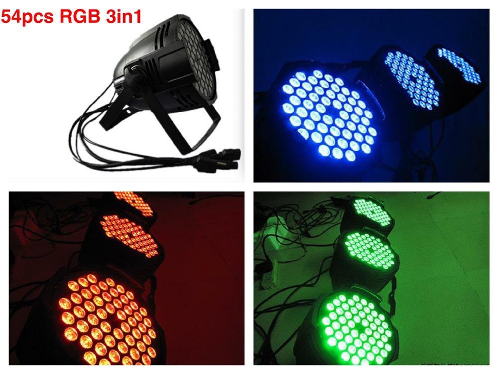 Đèn PAR 54x3W đổi màu Full color