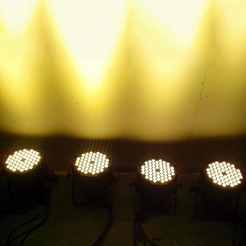 đèn par led 54x3W ánh sáng trắng ấm