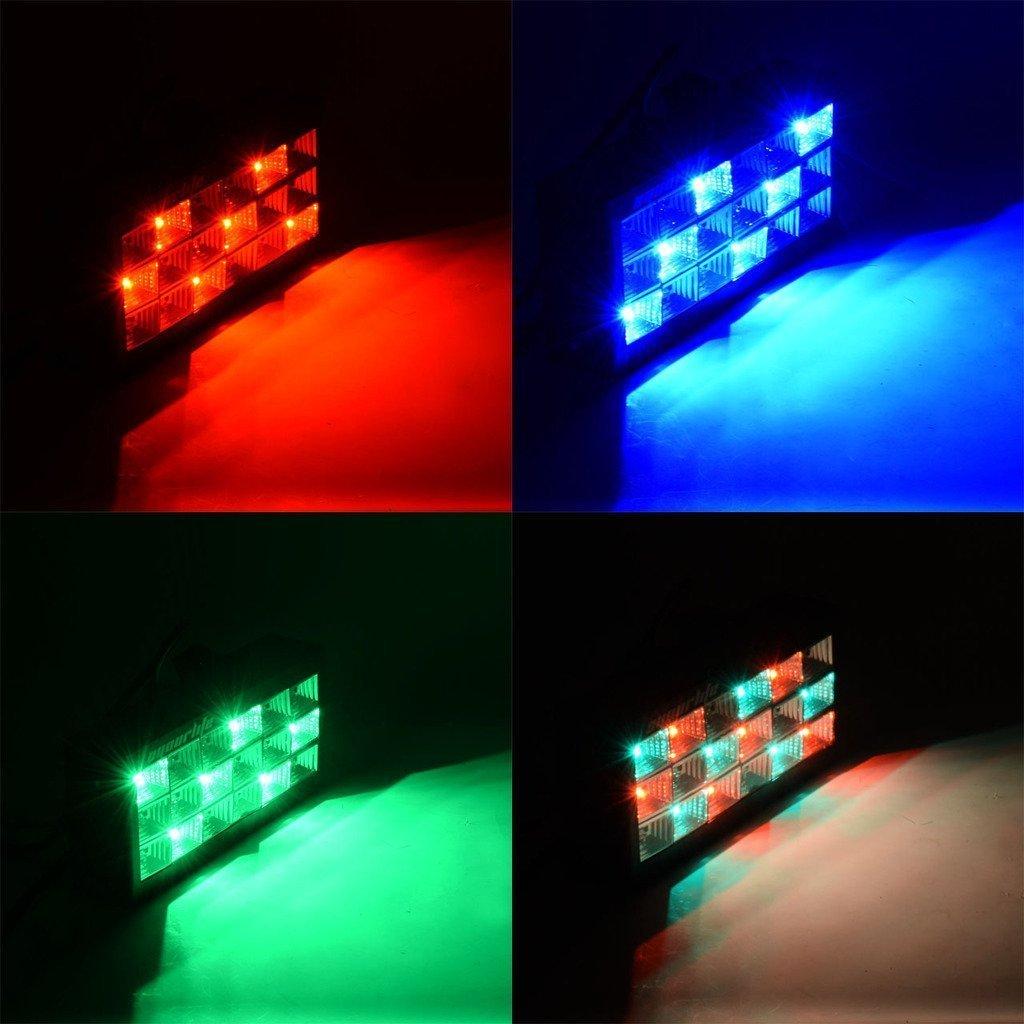 Đèn chớp led 18 bóng 7 màu