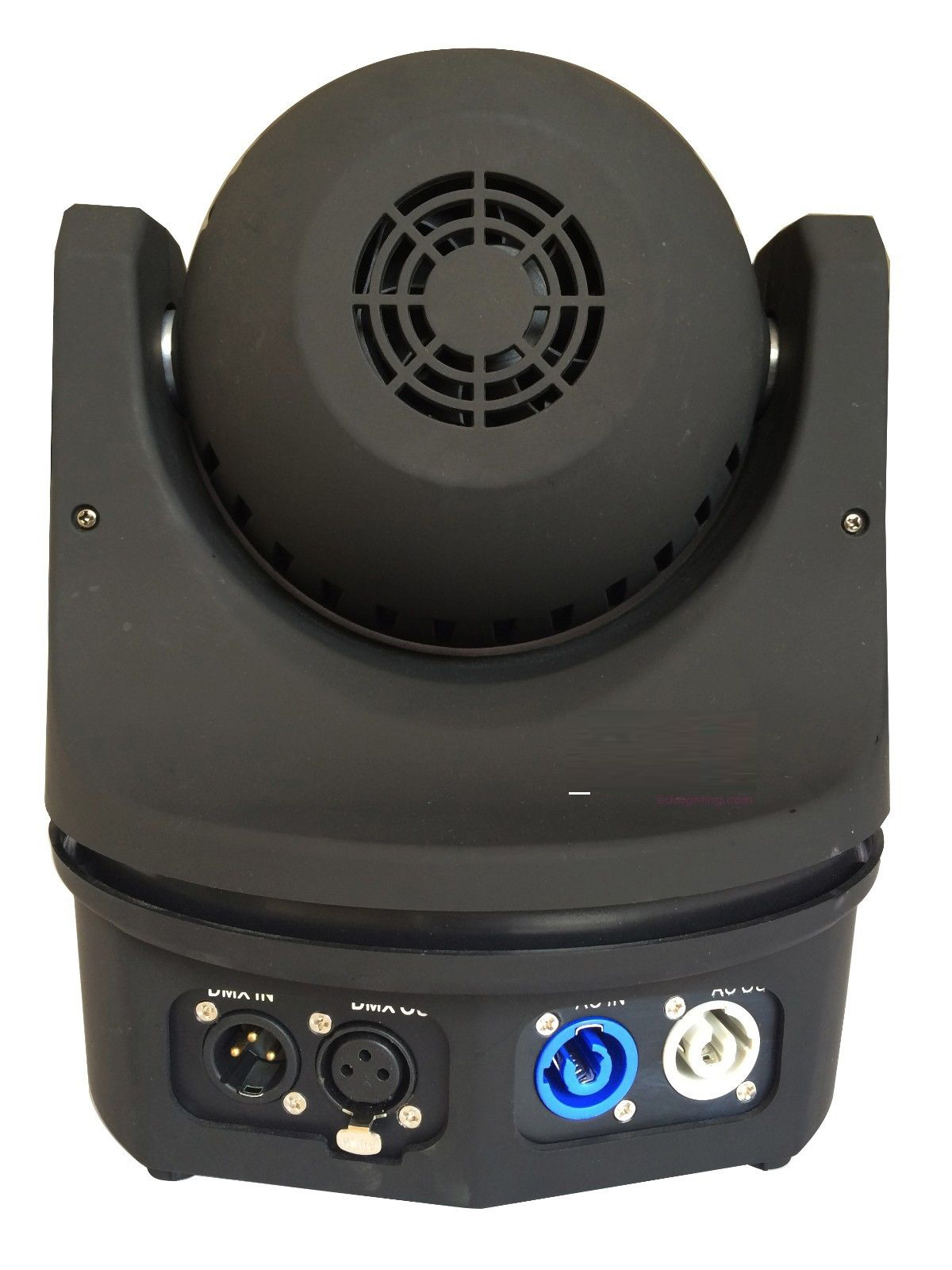 Các cổng kết nối của đèn LED moving head Bee Eye 6 mắt
