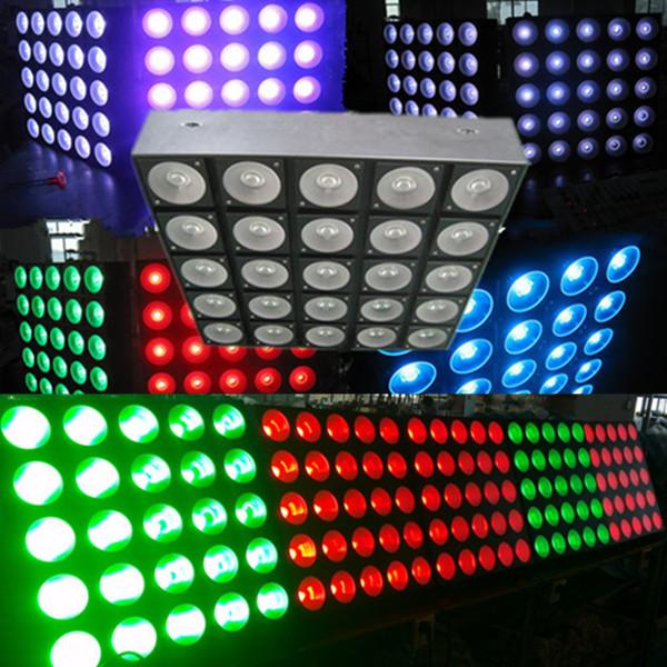 Đèn LED ma trận 5x5 sử dụng bóng đèn 10W 3 trong 1 RGB