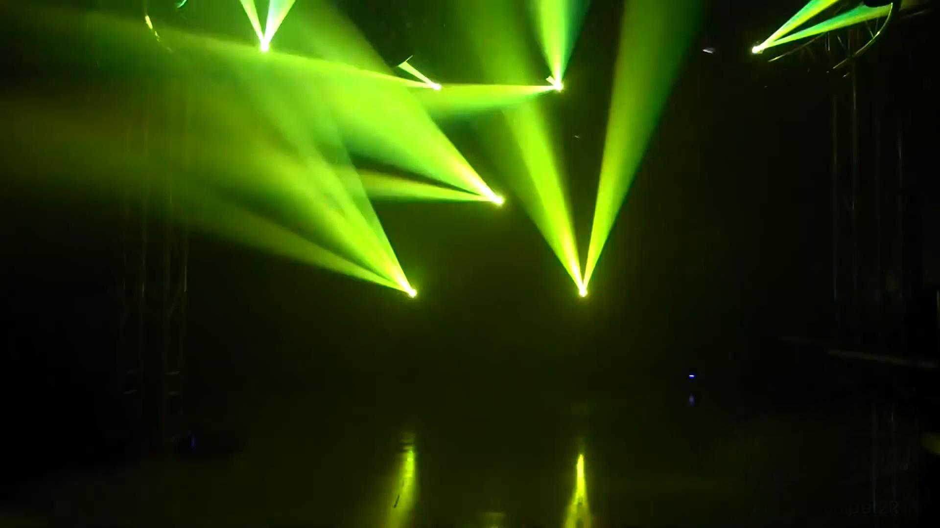 Hiệu ứng chùm tia của đèn 4 trong 1 xạ thủ Sniper