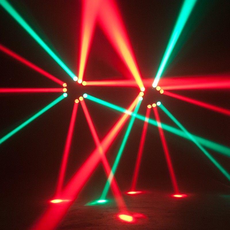 Hiệu ứng đèn moving head 9 mắt VIETDIGI trên sân khấu