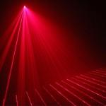 Hiệu ứng mạnh mẽ của đèn laser TriLa