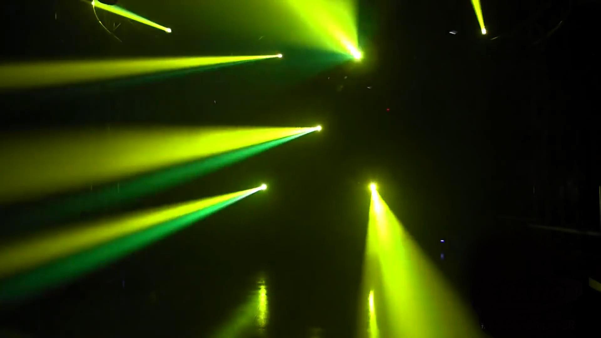Hiệu ứng chùm tia màu kép của đèn 4 trong 1 xạ thủ Sniper