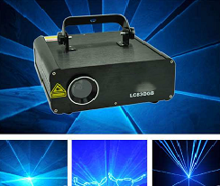 Hiệu ứng đèn laser ILDA sinh động