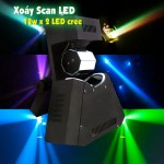Đèn LED xoay Scanner