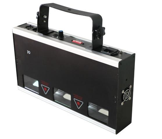 Đèn laser 3 cửa 3 màu Trila