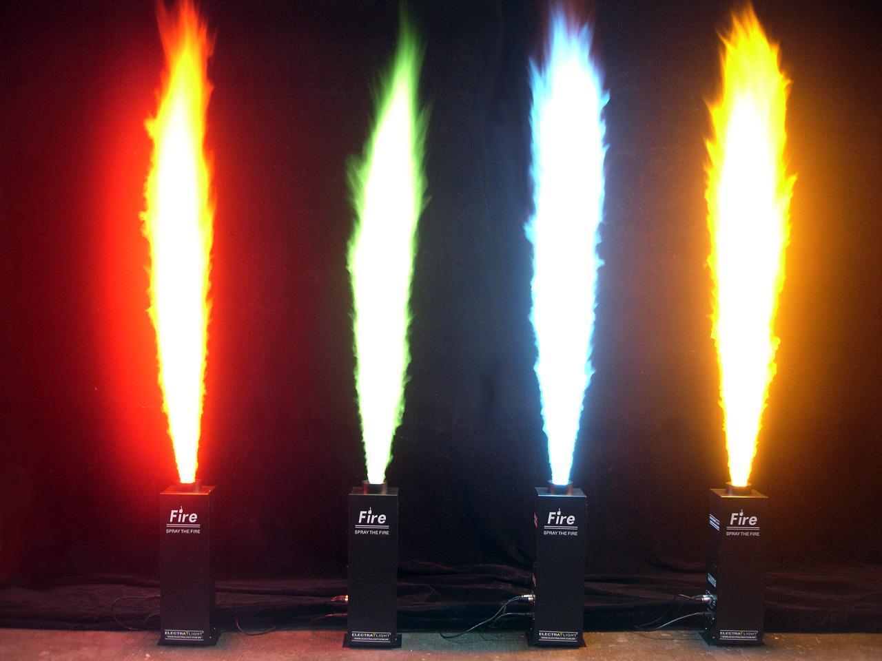 Máy phun lửa dùng cho sân khấu ca nhạc giải trí, gameshow