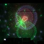 Đèn nấm đĩa bay sử dụng sự kết hợp giữa laser và LED