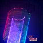 Hiệu ứng đường hầm của đèn laser VD250RGB