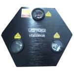 Đèn laser 3 cửa trung tâm VD233RGB