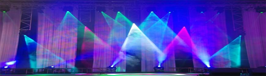 Ánh sáng sân khấu có thể được định nghĩa là việc xử dụng ánh sáng để tạo ra một cảm giác về TẦM NHÌN, TỰ NHIÊN, BỐ CỤC và TÂM TRẠNG, (hay KHÔNG KHÍ).
