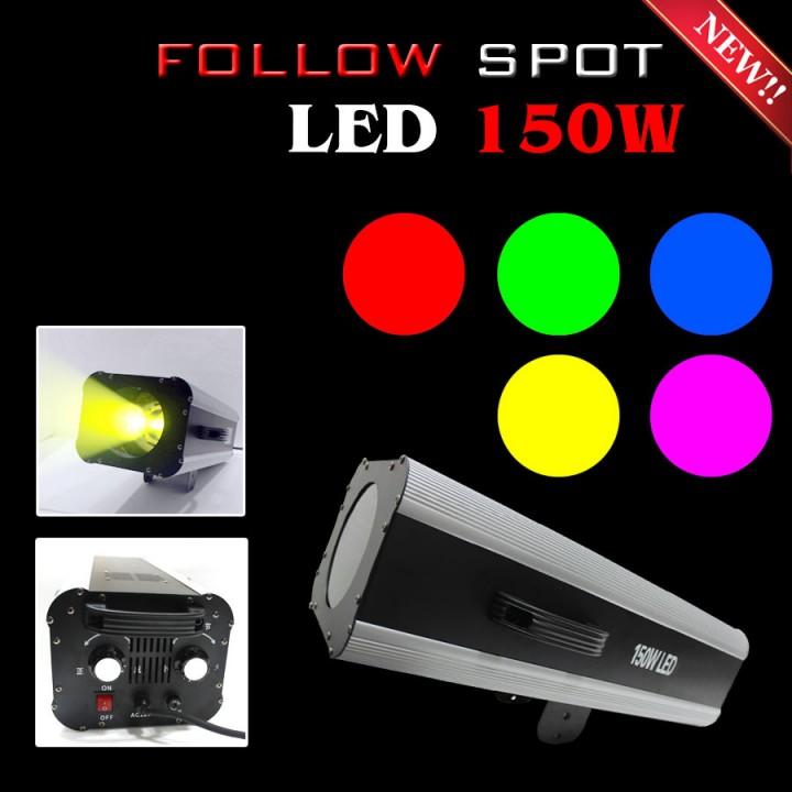 Đèn follow spot led 150w, các loại đèn follow