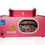 Đèn laser 1 cửa 2 màu K800
