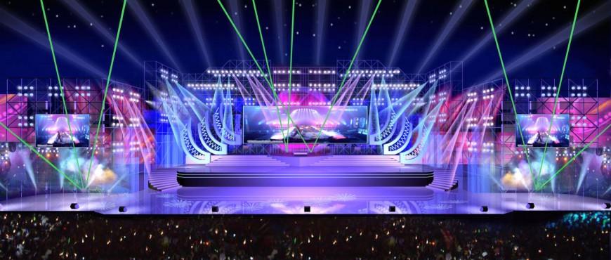 Lắp đặt đèn sân khấu chuyên nghiệp tại Hà Nội