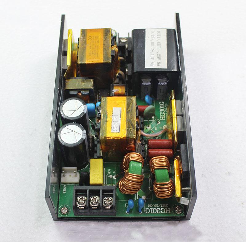 Đầu vào điện áp mạch đổi nguồn DC cho đèn Moving head là 220VAC