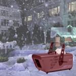 Máy phun tuyết cho sân khấu