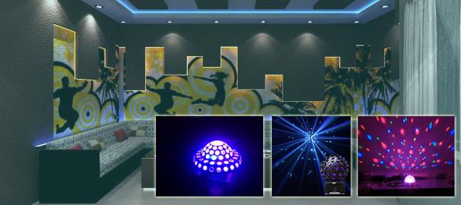 Đèn trang trí phòng karaoke