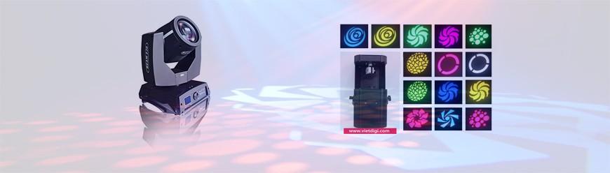 đặc điểm đèn moving head và đèn scanner