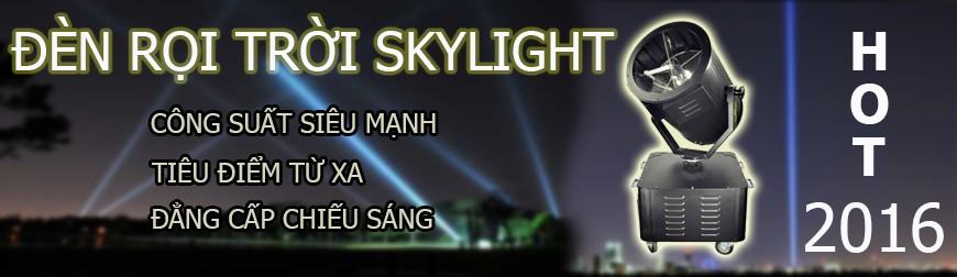 Đèn rọi trời skylight, đèn rọi trời các loại công suất