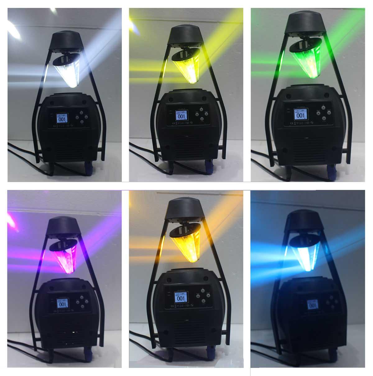 Đèn led xoáy trung tâm, các loại đèn led scanner sân khấu