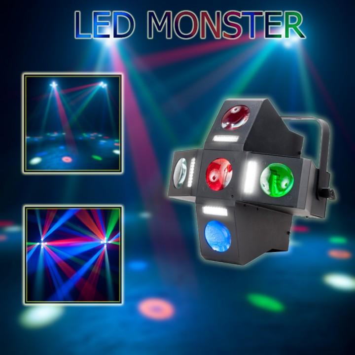 Đèn led monster, đèn led sân khấu, đèn sân khấu các loại.