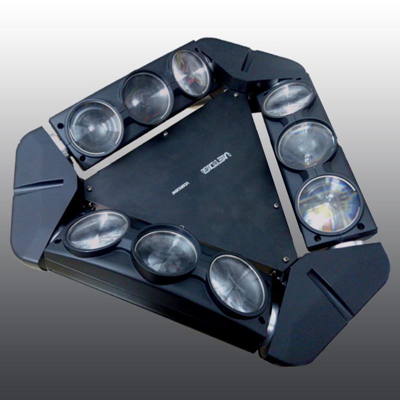 đèn moving head tam giác, đèn moving head các loại