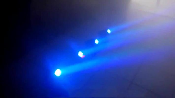 Thanh đèn moving head mini 4 trong 1, đèn moving head sân khấu.