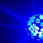 Đèn Fabu 2 trong 1 led+gobo, đèn led sân khấu