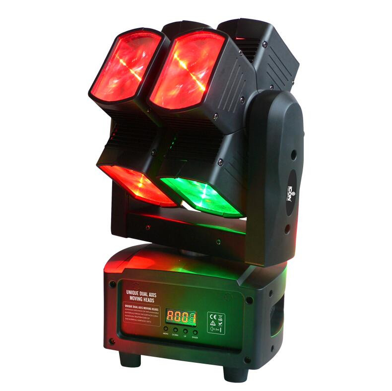 Đèn moving head Duro 4 trong 1 4x10W
