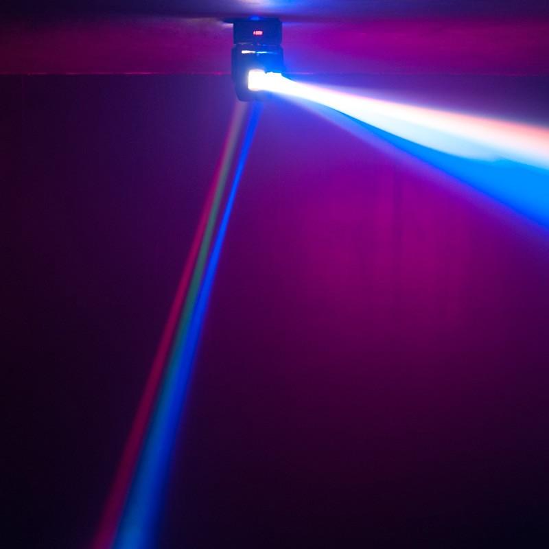Hiệu ứng đèn moving head Duro trục kép quay đảo 2 chiều