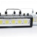 Chớp LED 100W có 2 loại vỏ màu đen và màu trắng