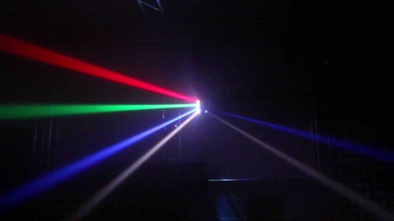 Hiệu ứng mobing head Spider 8x3W RGBW