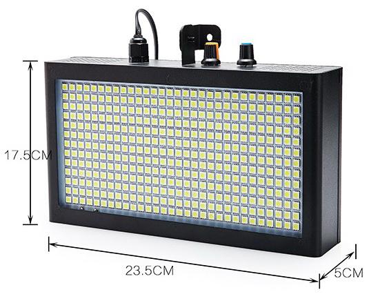 Kích thước đèn chớp LED 7 màu 390 bóng