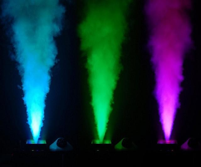 Đèn LED tạo ra nhiều màu sắc khác nhau